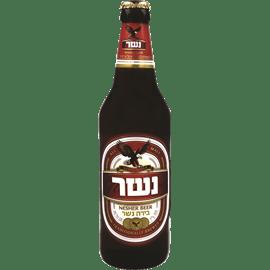 בירה נשר לבן בקבוק חוזר