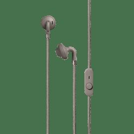 אוזניות חוטיות צבע אפור