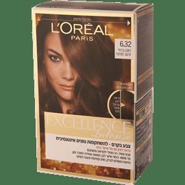 צבע שיער אקסלנס 6.32