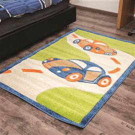 שטיח מכוניות ירוק