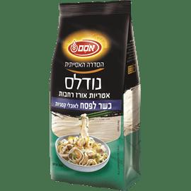 נודלס אטריות אורז רחבות