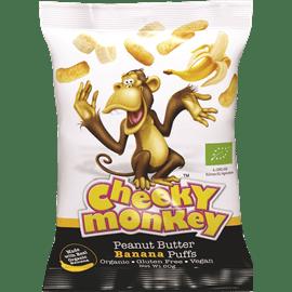 צ'יקי מאנקי עם בננה