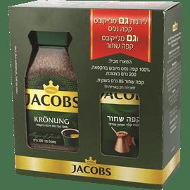 קפה ג'קובס קרוננג+שחור