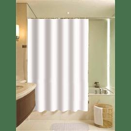 אקווילה וילון אמבט לבן 1