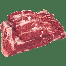 בשר מס. 2 צלעות חלק קפוא