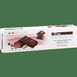 ופלים מצופים שוקולד מריר