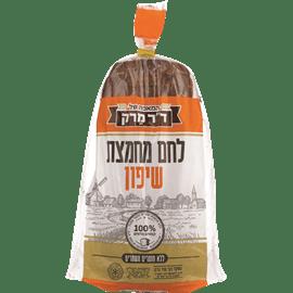 לחם שיפון דל נתרן פרוס
