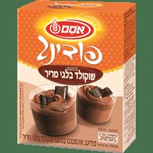 פודינג שוקולד מריר