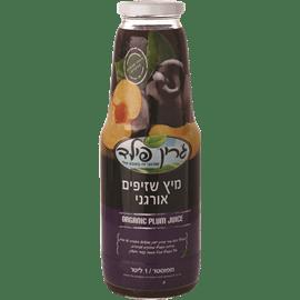 מיץ שזיפים אורגני 1 ליטר