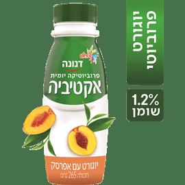 משקה אקטיביה אפרסק