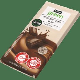 שוקולד חלב אורגני גרין
