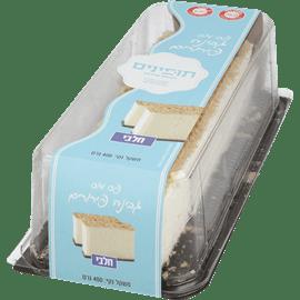 עוגת גבינה שמנת ופירורים