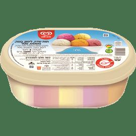 גלידה משפחתית 5 טעמים