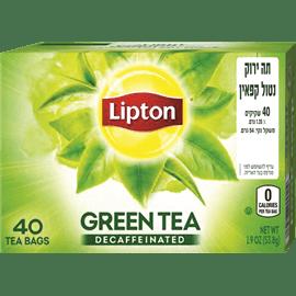 תה ירוק נטול קפאין