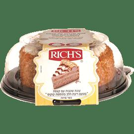 עוגת טורט ריבת חלב קוקוס