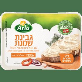 גבינת שמנת+תבלינים 23.5%