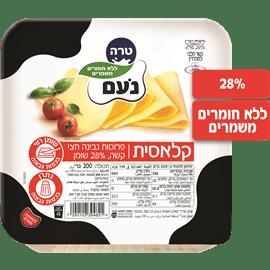 גבינה צהובה נעם דק דק28%