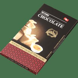 שוקולד לבן עם שבבי קרמל