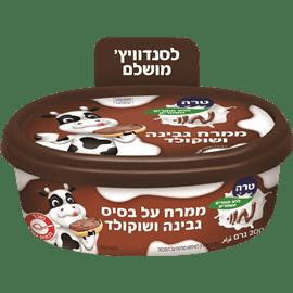 ממרח גבינה ושוקולד מו16%