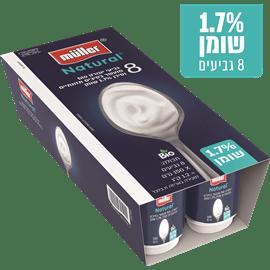 יוגורט מולר נטורל 1.7%