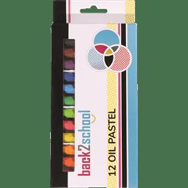 צבעי שמן פסטל 12