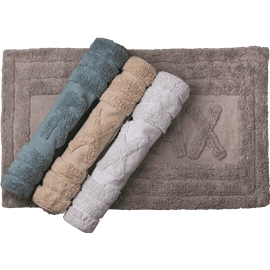 שטיח אמבטיה 100%כותנה
