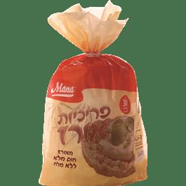פריכיות אורז ללא מלח