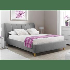 מיטה זוגית מרופדת טרזה