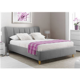 מיטה זוגית טרזה ריפוד בד