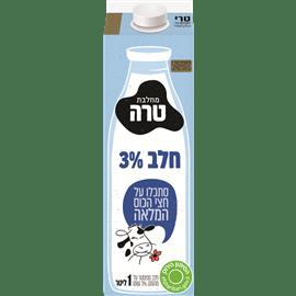 חלב הומוגני בקרטון 3%