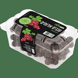 ענבים אדומים ללא חרצנים