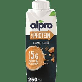 משקה סויה קפה קרמל אלפרו