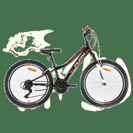 אופניים 24 FLASH לבן/ורו