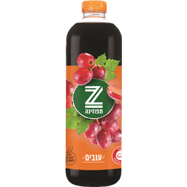 תפוזינה משקה קל ענבים
