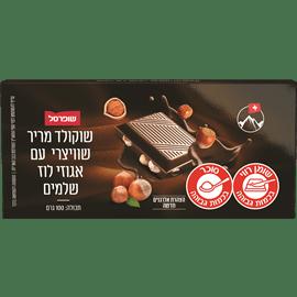שוקולד מריר+אגוזי לוז