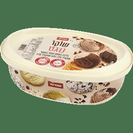גלידה שוקו נוגט