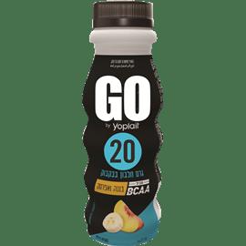 משקה יוגורט GOבננה-אפרסק
