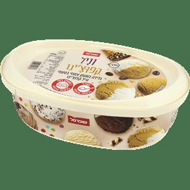 גלידה וניל קפוצ'ינו