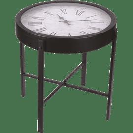 שולחן קפה שעון