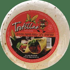 טורטיות ראפ מקמח תירס