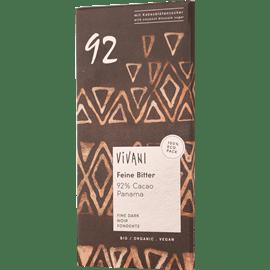 שוקולד מריר 92% אורגני