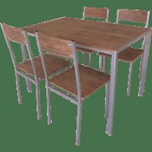 שולחן + 4 כסאות