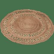 שטיח עגול קש