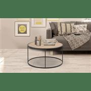 שולחן סלון עגול ירח