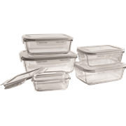 סט 5 קופסאות אחסון