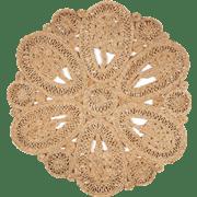 שטיח יוטה טבעי עגול