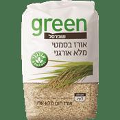 אורז בסמטי מלא אורגני