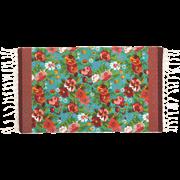 שטיח מודפס ויוי טורקיז