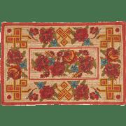 שטיח יוטה מודפס מוצאצ