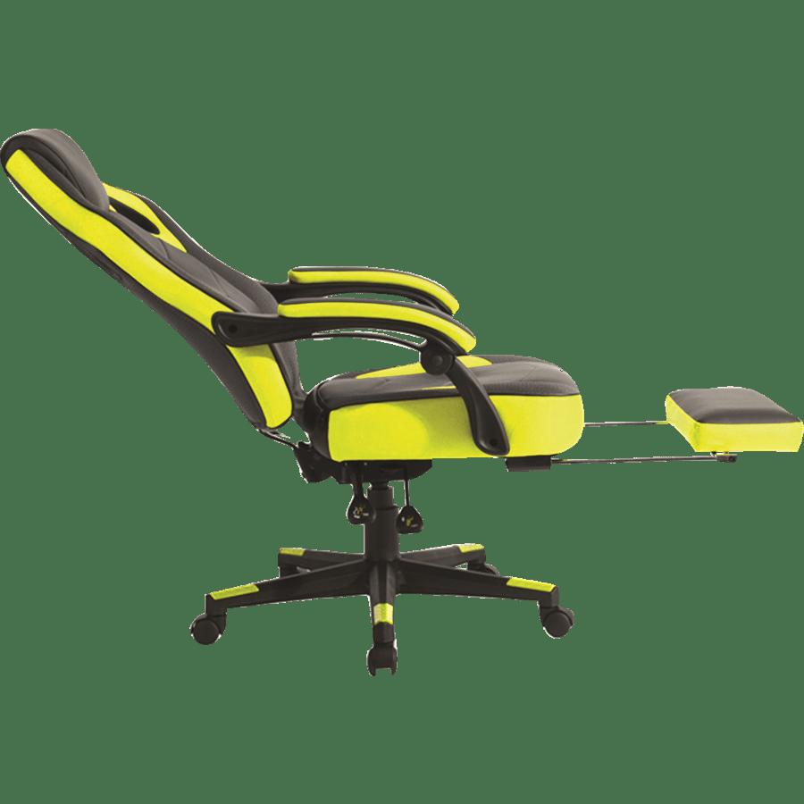 כיסא גיימינג צהוב שחור